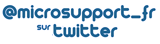 Microsupport sur Twitter
