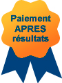 Depannage informatique Paris : paiement apr�s r�sultat
